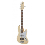 Harley Benton Enhanced MJ-5EB Creme