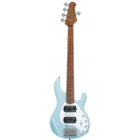 Sterling by Music Man StingRay 5 HH MN Daphne Blue